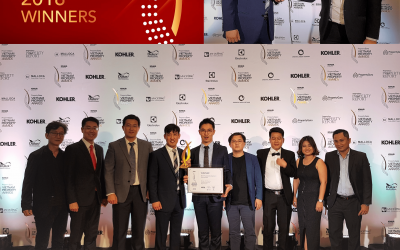 "THE NATIONAL HOUSING ORGANIZATION (NHO) WINS ""BEST RESIDENTIAL DEVELOPMENT (HALONG BAY)"" AT THE VIET NAM PROPERTY AWARDS 2018"