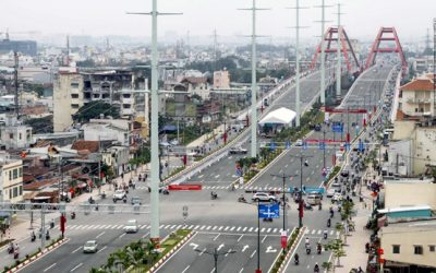 THE TRAFFIC PROJECTS THAT COULD EASE HCMC'S TRAFFIC CONGESTION ARE THE MOST EXPECTED IN 2018