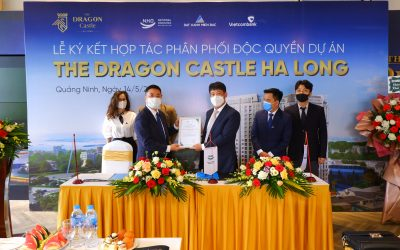 Exclusive distribution signing ceremony for The Dragon Castle Ha Long project